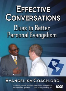 DVD from Evangelism Coach on How to have more effective Evangelism Conversations