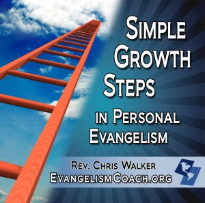 Simple Growth Steps in Personal Evangelism Cover - goes to the store for purchase